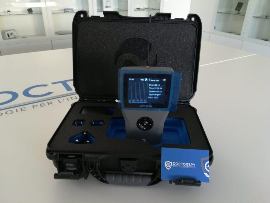 Rilevatore per monitoraggio cellulari – 2G/3G/4G Wifi/Bluetooth